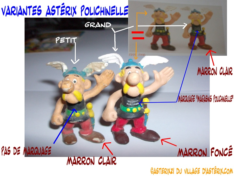 Astérix® les Variantes d'Hier et d'Aujourd'hui [Le Catalogue] Varian73