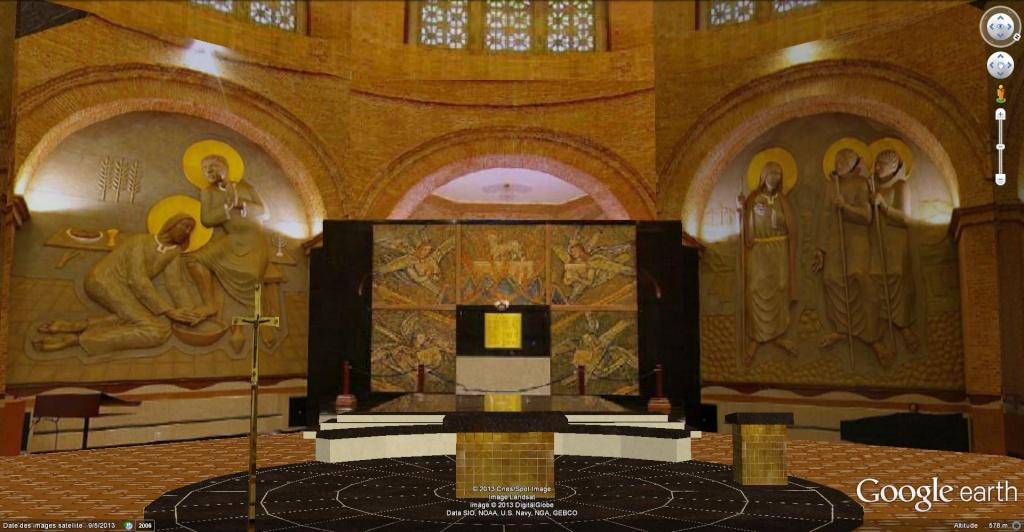 STREET VIEW: Batiments, les intérieurs Chapel11