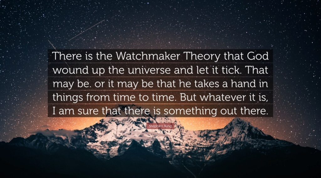 Has Paley's Watchmaker argument been debunked? 0000ab10