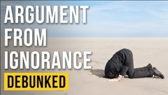 Argument from ignorance: a valid rebuttal to intelligent design arguments ? 11921810