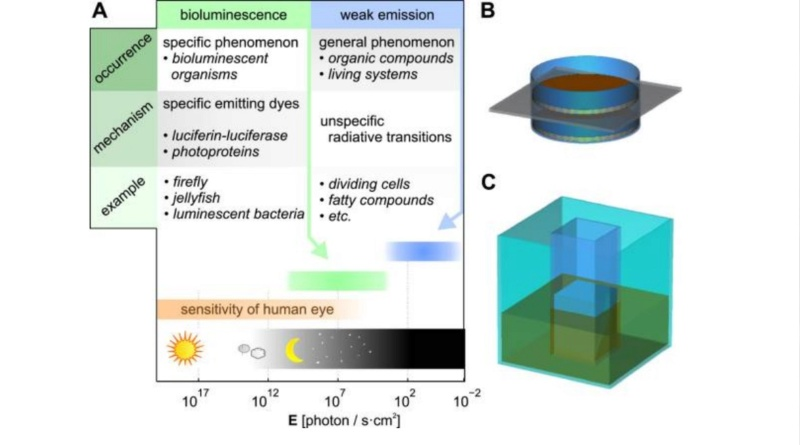 Awe-inspiring biophoton cell-cell communication points to design  1427