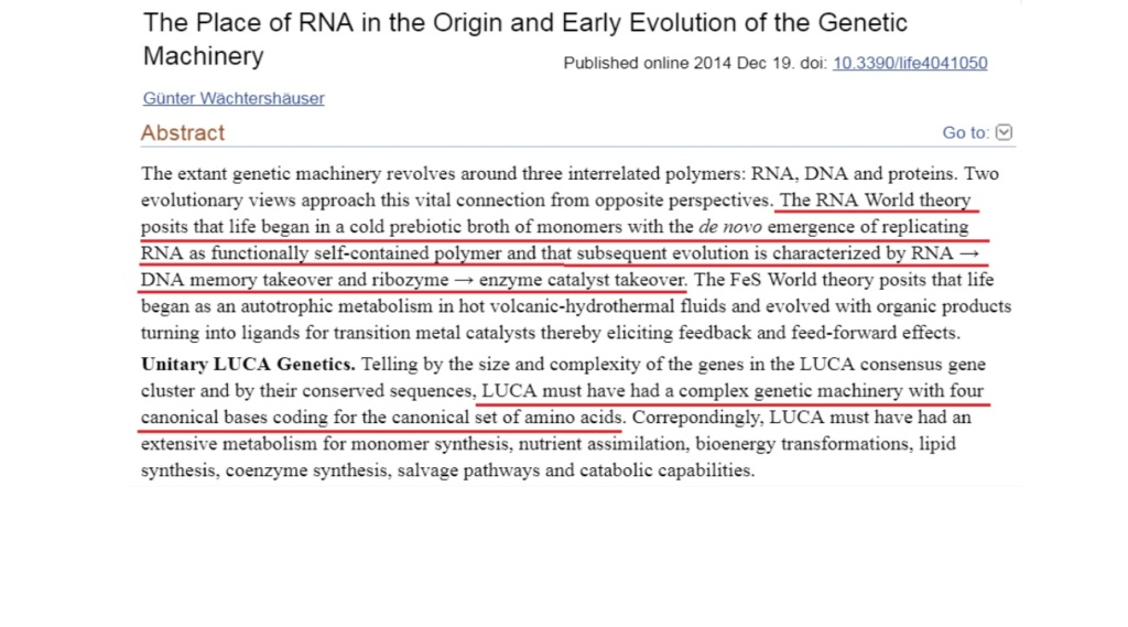 RNA & DNA: It's prebiotic synthesis: Impossible !!  1713