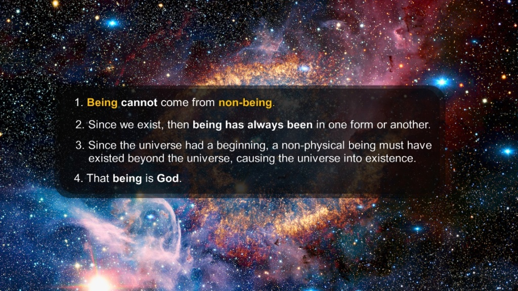 10 Syllogistic arguments for Gods existence 221