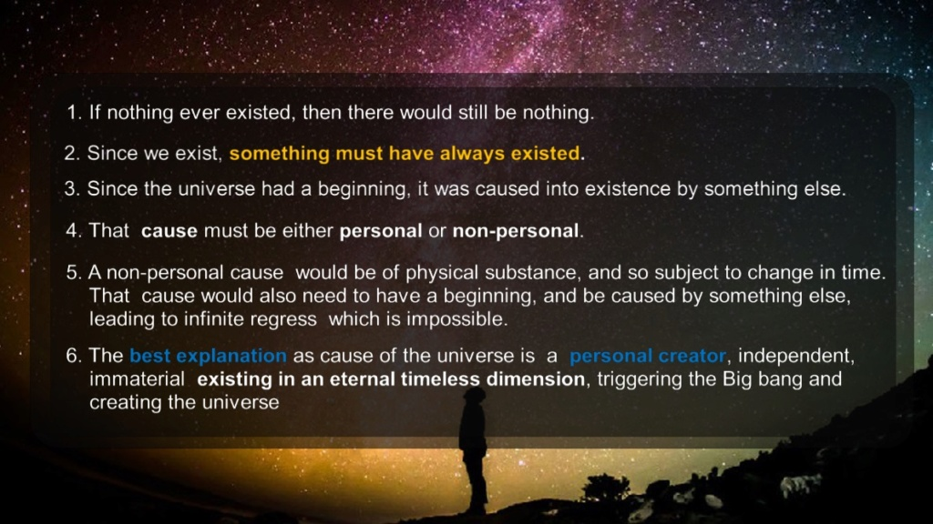 10 Syllogistic arguments for Gods existence 328