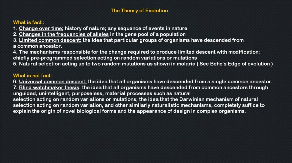 What are the REAL mechanisms of biodiversity, replacing macroevolution?  819