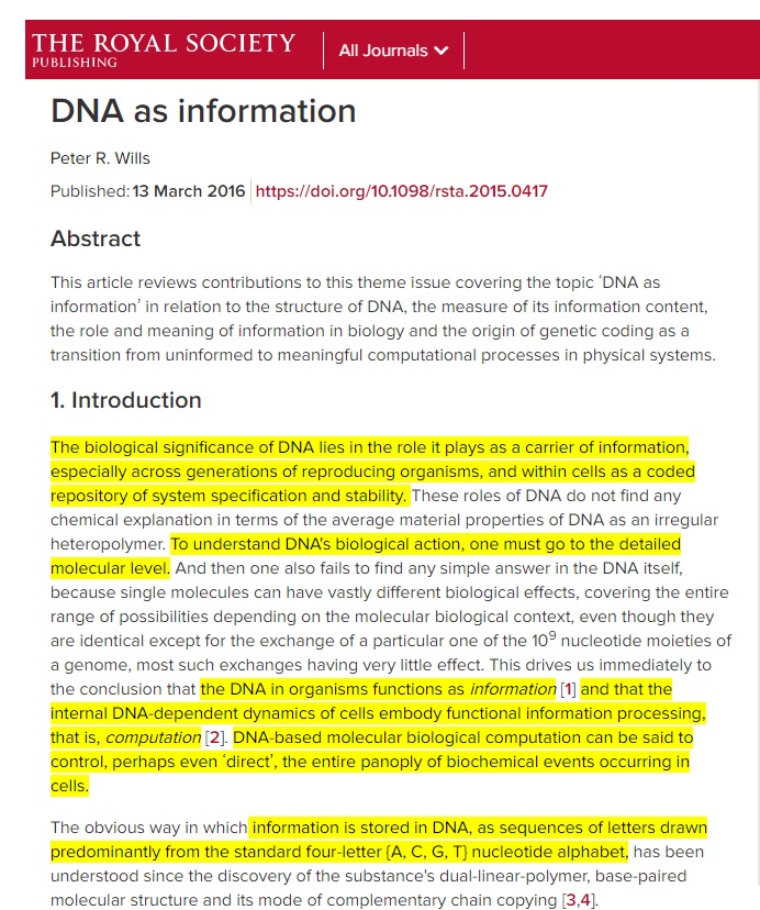 DNA stores literally a genetic code Sem_tz57