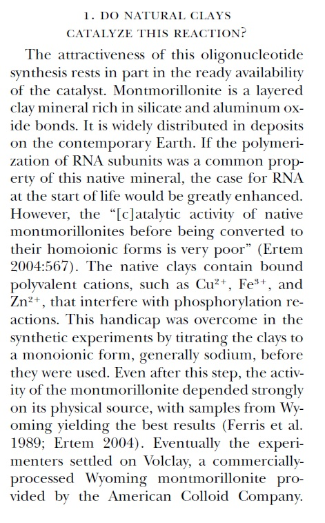 RNA & DNA: It's prebiotic synthesis: Impossible !!  Shapir10