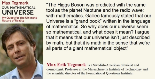 Mathematics: Tegmark - Evidence of Design in Mathematics Tegmar11