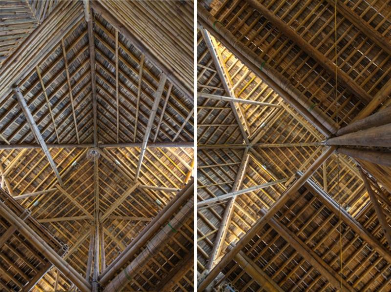 Cette maison faite de bambou, résiste aux inondations Maison14