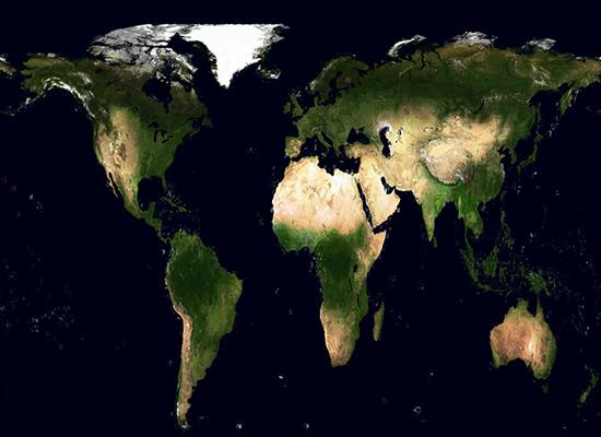 INTERNATIONAL – Une vague de vert envahi la Terre Terre-10