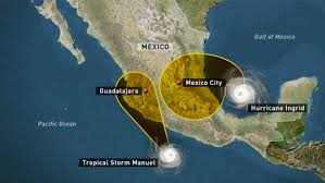 Apocalipsis lluvia golpea México: tormentas gemelas raras dejan 34 muertos Images11