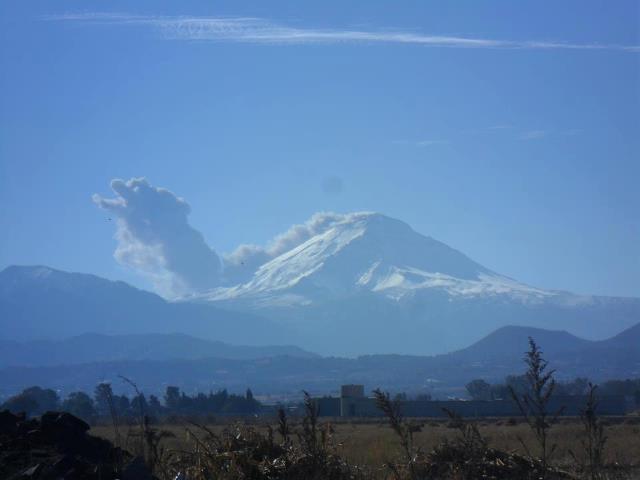 Popocatépetl Imagen curiosa - Quetzalcoatl emerge del volcán Quetza10