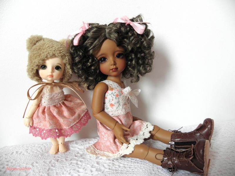 Une rencontre adorable !!!  Tiana ma Momocolor et Praline ma Pukifee, mes 2 amours de BJD ! P3170214