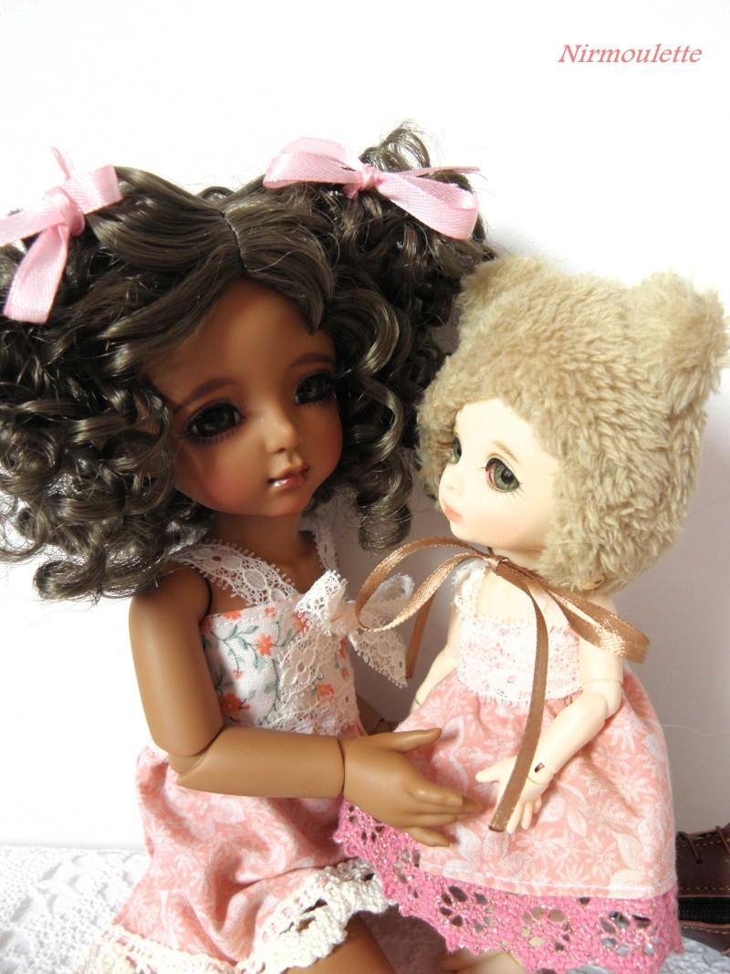 Une rencontre adorable !!!  Tiana ma Momocolor et Praline ma Pukifee, mes 2 amours de BJD ! P3170215