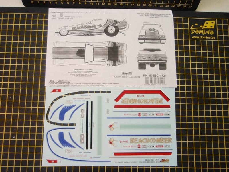 Funny car Monza Beachcomber Don johnson ( terminé ) P9120021