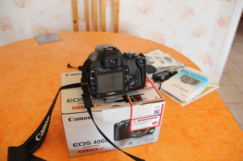 [Vendu] Canon 400D avec objectif canon 18-55 Img_2711