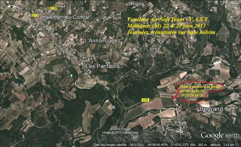 Journées scénarisées sur base milsim à Méthamis (84) les 22 & 23 juin 2013 - V.A.S.T  Matham10