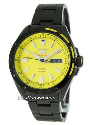 montre a fond jaune Srp15910