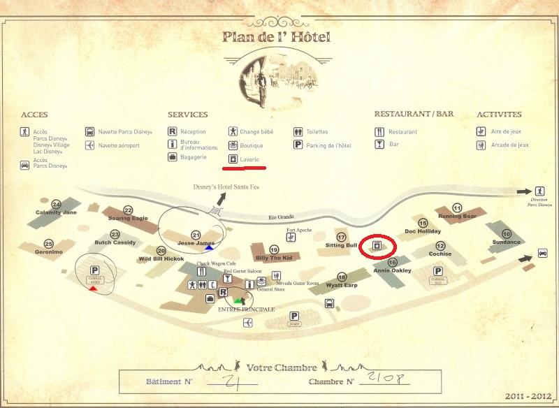 Laverie / laver son linge sur le Resort ? Plan1010