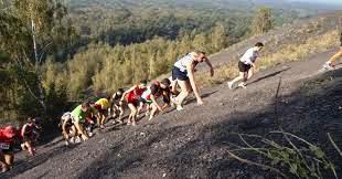 Trail des Pyramides Noires Terril10