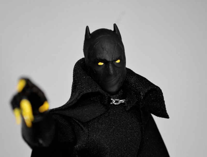 CUSTOM BLACK PANTHER (PANTERA NERA) 1/6, 12 INCH, 30 CM Black_10