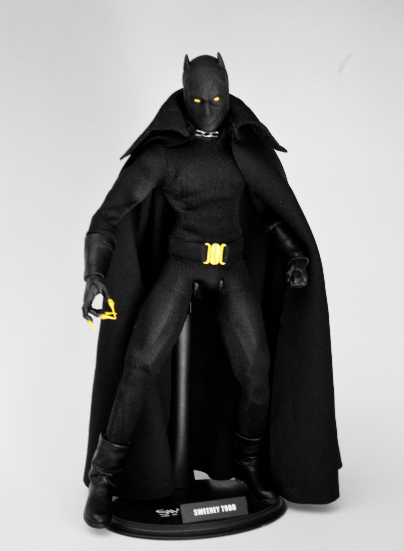 CUSTOM BLACK PANTHER (PANTERA NERA) 1/6, 12 INCH, 30 CM Black_12