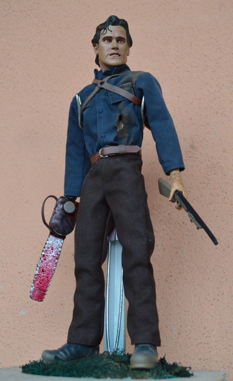 1/6 SIDESHOW CUSTOM ASH FIGURE FROM EVIL DEAD / ARMY OF DARKNESS Dsc_0111