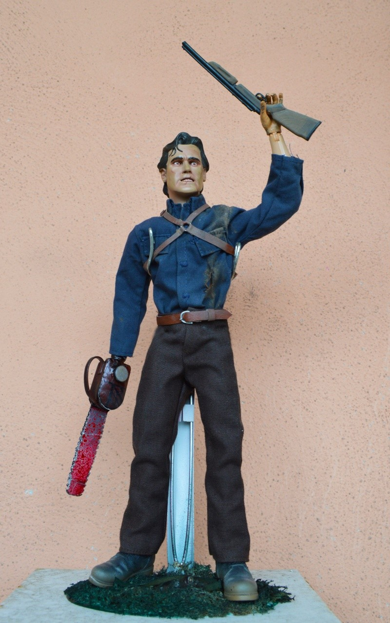 1/6 SIDESHOW CUSTOM ASH FIGURE FROM EVIL DEAD / ARMY OF DARKNESS Dsc_0113