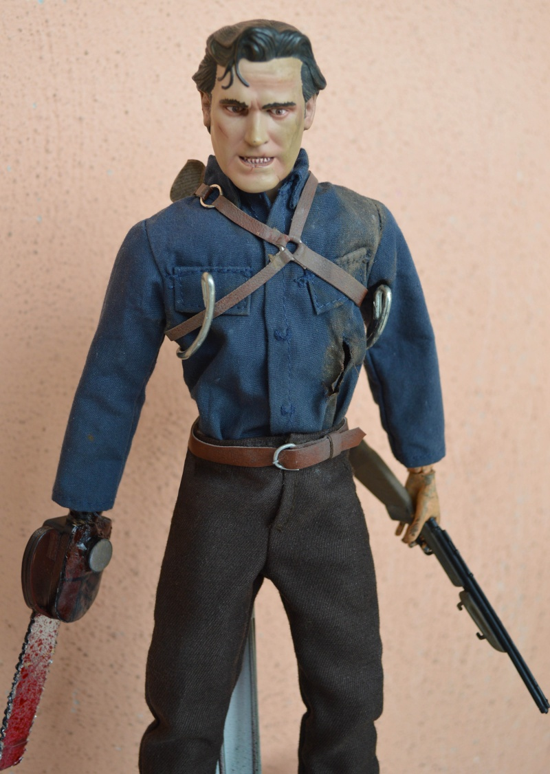 1/6 SIDESHOW CUSTOM ASH FIGURE FROM EVIL DEAD / ARMY OF DARKNESS Ok10