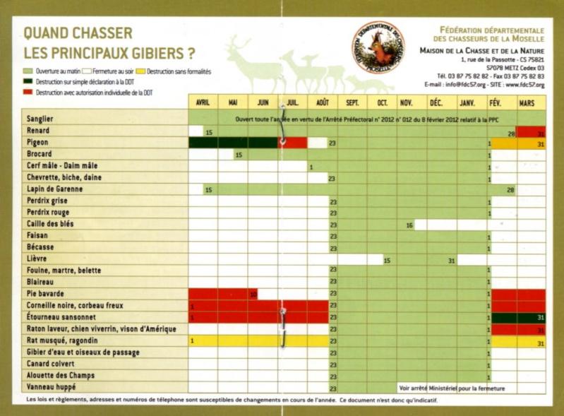 Chasse à l'affut / approche - Saison 2013-2014 Calend10