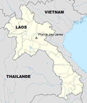 La Plaine des Jarres - Laos - Asie du Sud-Est Carte_11
