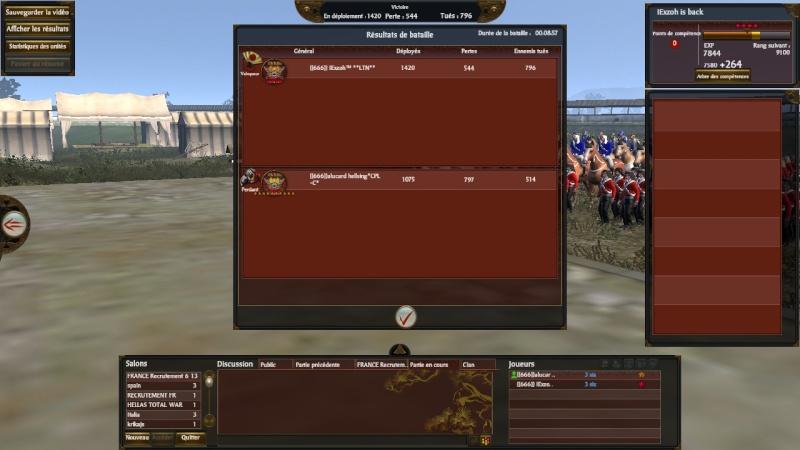 Screen du tournoi shogun 666_ca10
