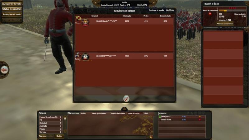 Screen du tournoi shogun 666_co13