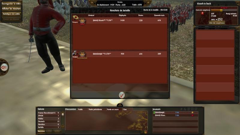 Screen du tournoi shogun 666_so11