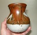 Jug and Flambé bud vase - t mark Dscn8929