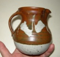 Jug and Flambé bud vase - t mark Dscn8930