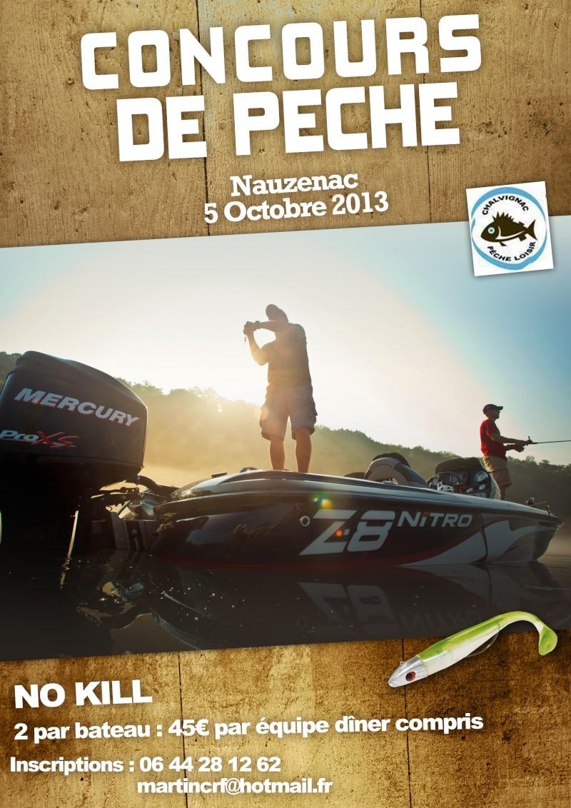 Concours de Pêche Chalvignac Affich10