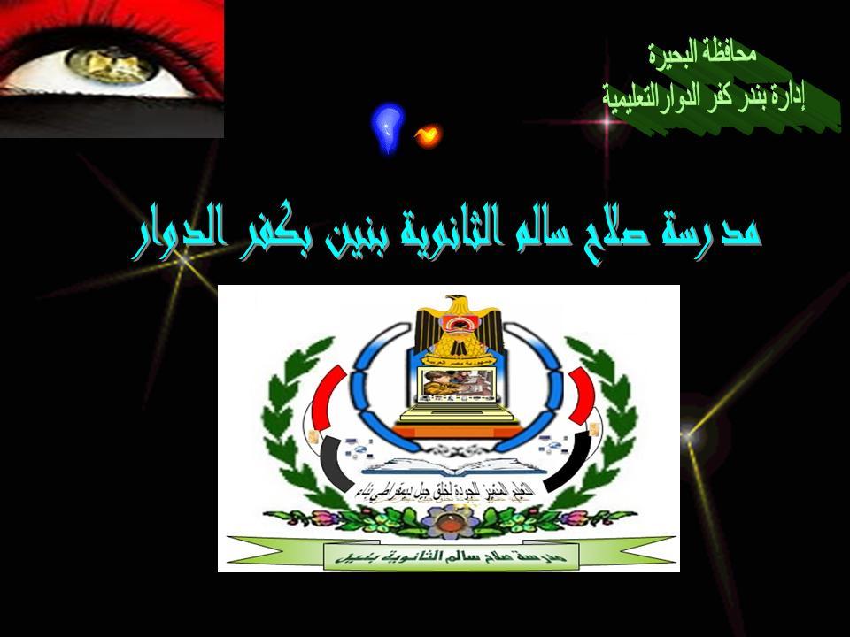 مدرسة صلاح سالم الثانوية بنين