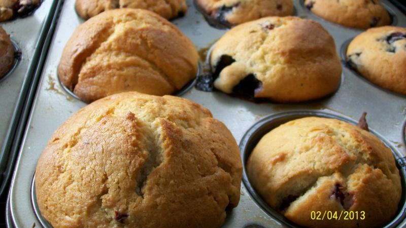 Muffins aux petits fruits de Mandoline 100_4210
