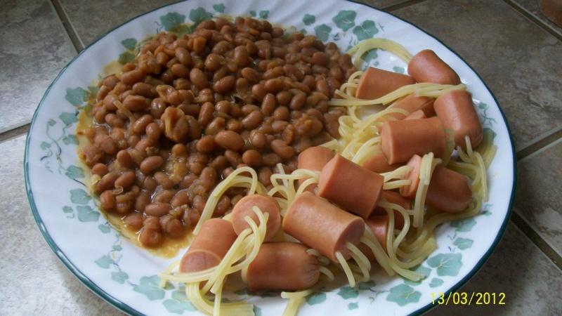 spaghettis aux snacks.photos. Salade13