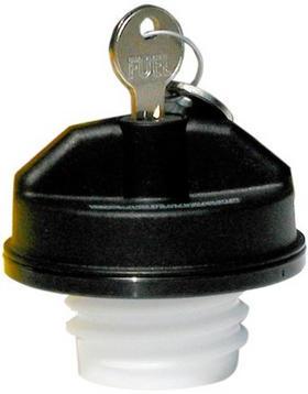 Bouchon d'essence noir avec clé T2ec1610