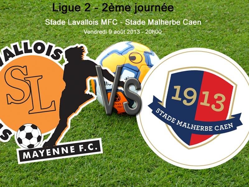 [2e journée de L2] Stade Lavallois 1-2 SM Caen Image10