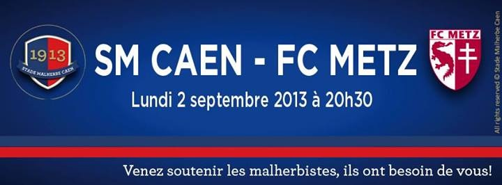 [5e journée de L2] SM Caen 0-2 FC Metz Image11
