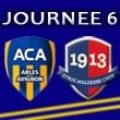 [6e journée de L2] AC Arles-Avignon 3-2 SM Caen Image13