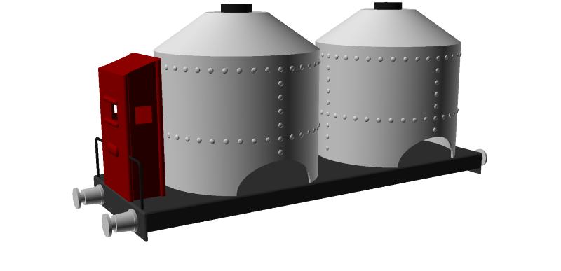 Réalisation de wagons en tôle, échelle 00 Wagon_16