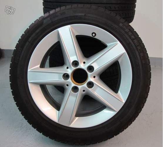 4 Jantes d'origine SLK R171 +  les 4 pneus état neuf 0113