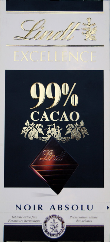 choco lindt excellence 99% noir 99_111