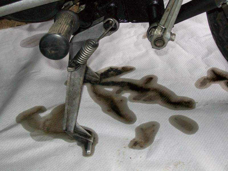 fuite d'huile 00210