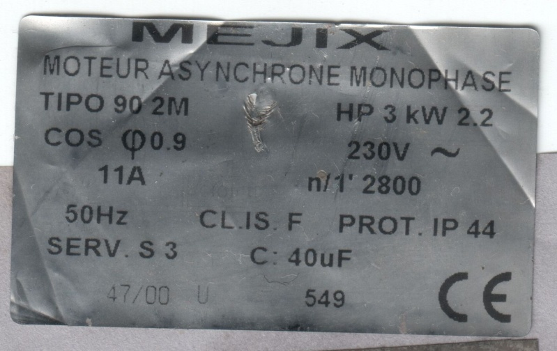 problème avec compresseur abac 100l hp3 ne redémarre pas Mejix-10