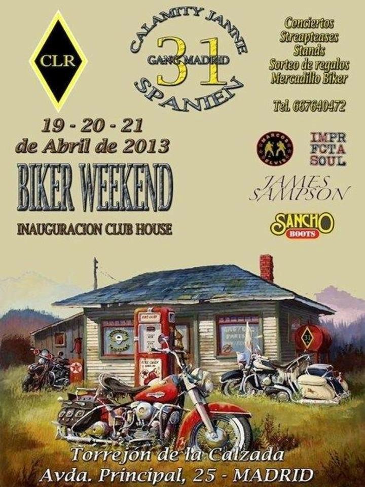 Del 19 al 21 de Abril - Biker Weekend - Torrejón de la Calzada 54412710